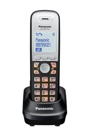 Бюджетная модель системного DECT телефона Panasonic KX-WT115