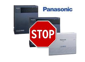 Изменение линейки мини-АТС Panasonic