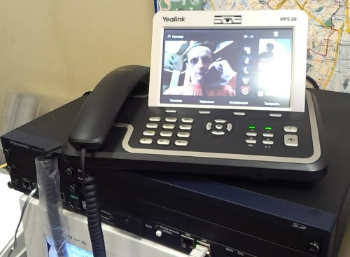 Yealink VP530 и Panasonic KX-NCP