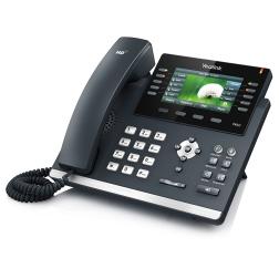 корпоративный SIP телефон из новой линейки серии SIP-T4xx бизнес-телефонов Yealink