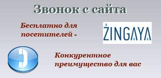 Звонок с сайта (Zingaya)