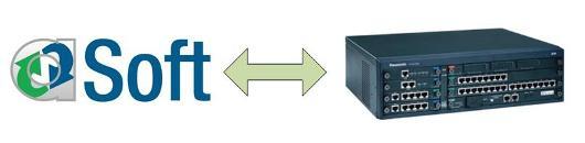 Интеграция CRM Asoft и мини-АТС Panasonic
